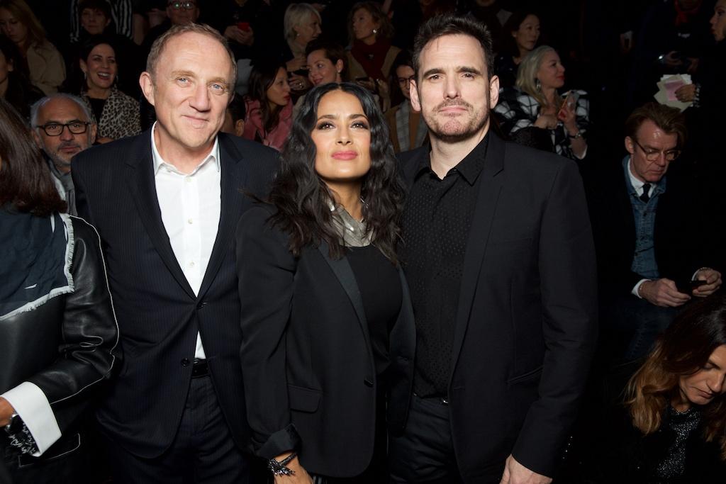 François-Henri Pinault, Salma Hayek and Matt Dillon