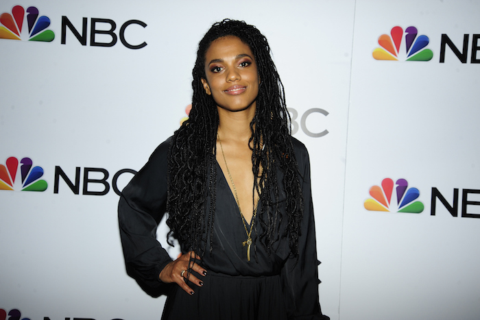 Freema Agyeman attends NBC And The Cinema Society Host A Party For The Casts Of NBC's 2018-2019 Season at The Four Seasons Restaurant on September 20, 2018 in New York.