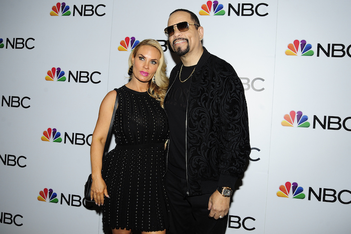 Coco Austin and Ice-T attend NBC And The Cinema Society Host A Party For The Casts Of NBC's 2018-2019 Season at The Four Seasons Restaurant on September 20, 2018 in New York.