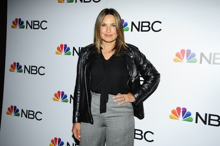 Mariska Hargitay attends NBC And The Cinema Society Host A Party For The Casts Of NBC's 2018-2019 Season at The Four Seasons Restaurant on September 20, 2018 in New York.