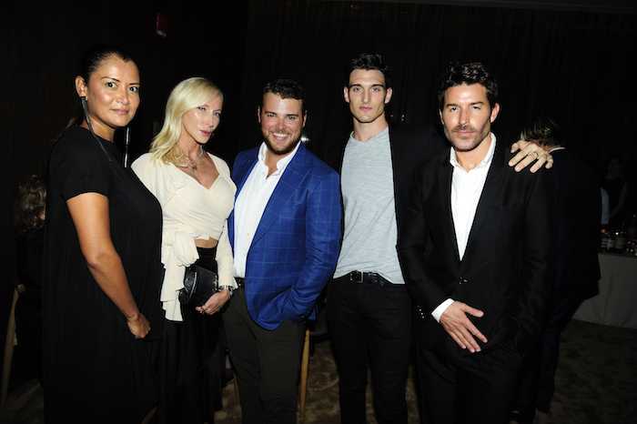 Keytt Lundqvist, Jackie Astier, Zach Weiss, Dan O'Brien Jr and Benjamin Thigpen attend NBC And The Cinema Society Host A Party For The Casts Of NBC's 2018-2019 Season at The Four Seasons Restaurant on September 20, 2018 in New York.