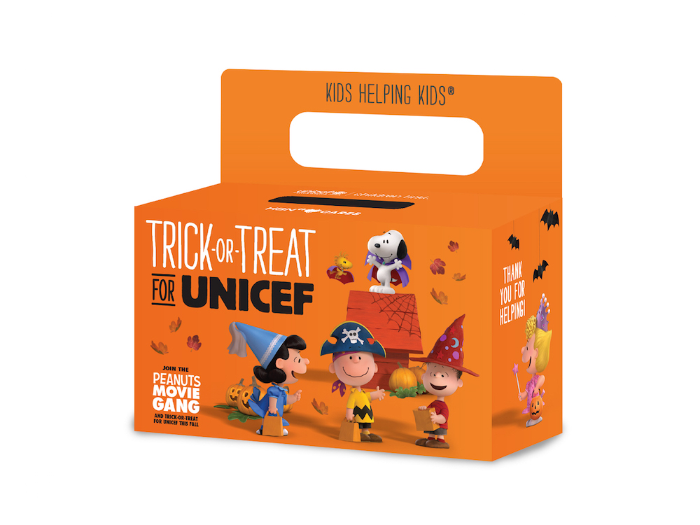 A trick or treat box