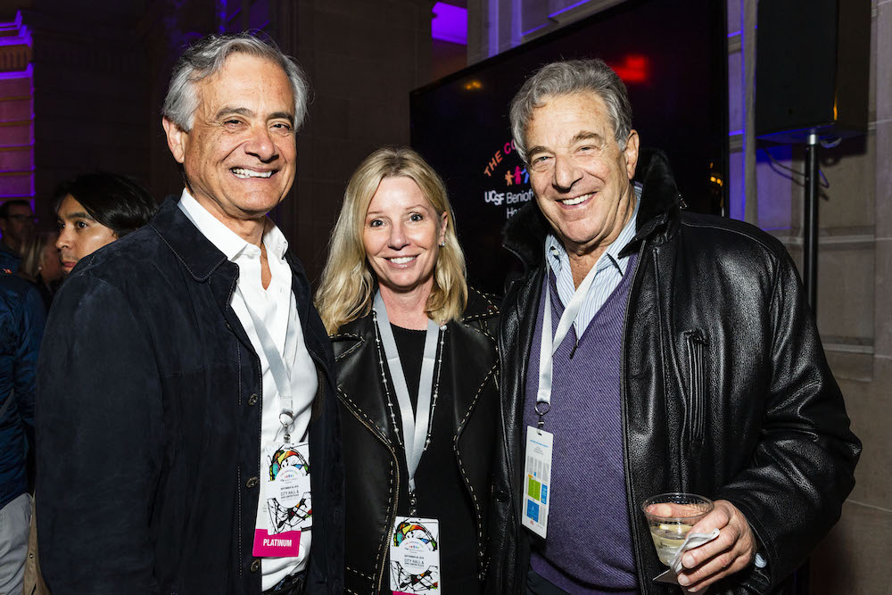 Michael Covarrubias, Kathleen McIntosh and Paul Pelosi