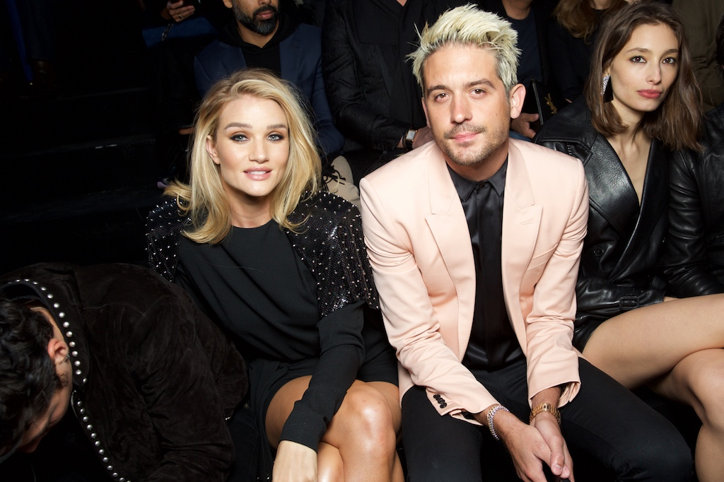 Rosie Huntington-Whiteley and G-Eazy