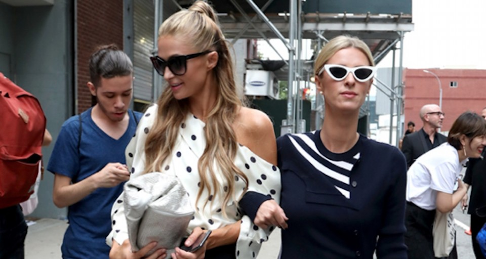 Celebs Spotted At New York Fashion Week
