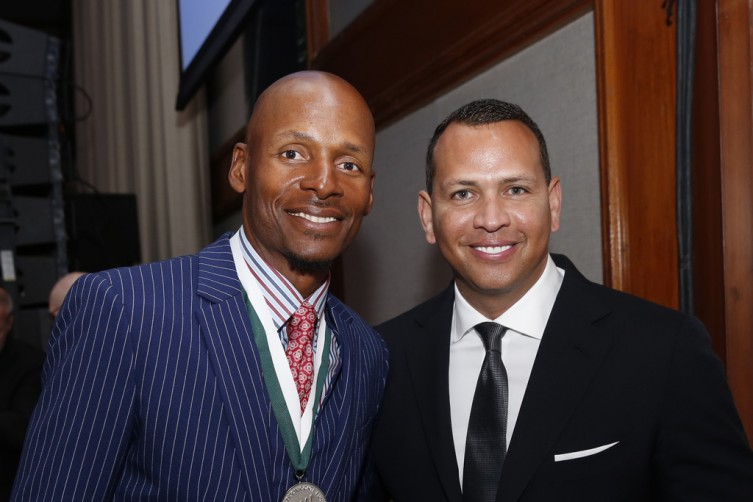 Honorees Ray Allen and Alex Rodriguez