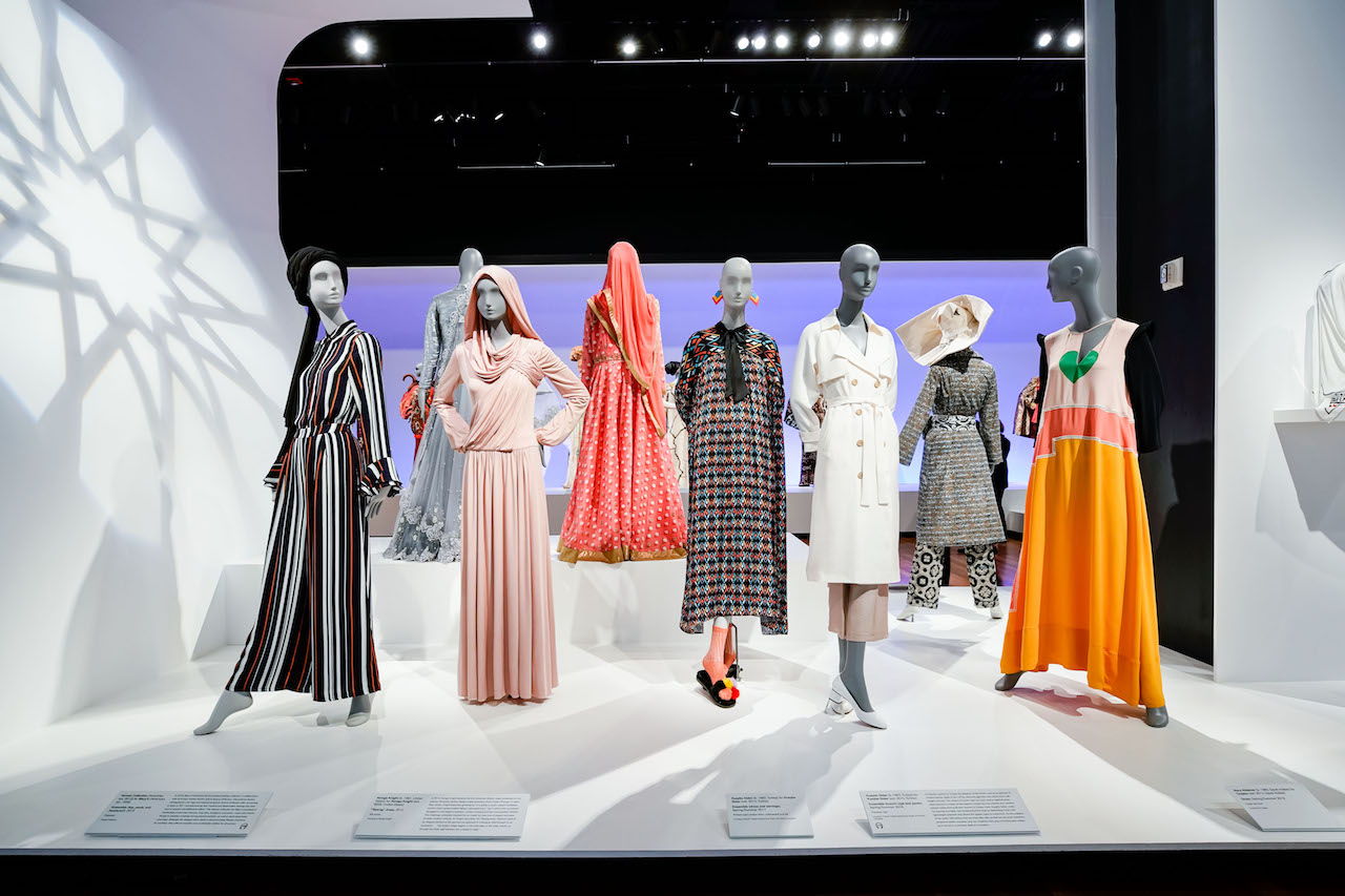 The Contemporary Muslim Fashions exhibit
