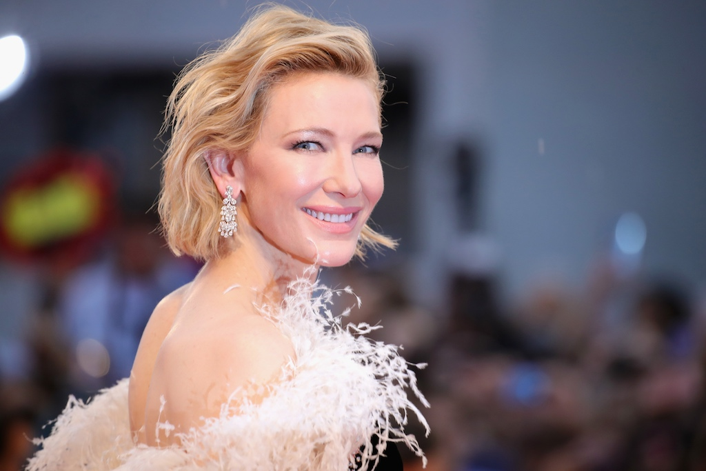 VENICE, ITALY - AUGUST 31: Cate Blanchett walks the red carpet ahead of the 'A Star Is Born' screening during the 75th Venice Film Festival at Sala Grande on August 31, 2018 in Venice, Italy. (Photo by Andreas Rentz/Getty Images)