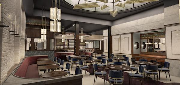 Benno Restaurant, credit Parts & Labor Design