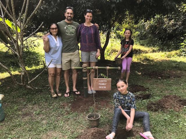 The Casto family