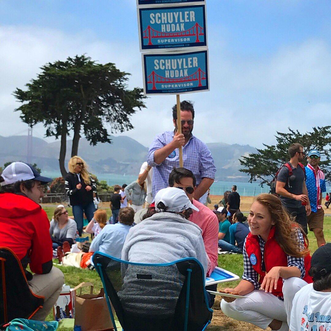 Campaigning in the Presidio