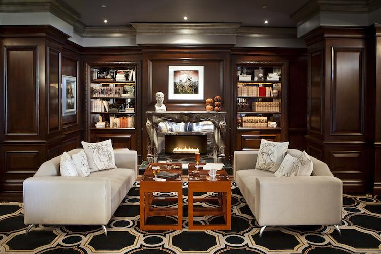 Langham Tap Room Fireplace