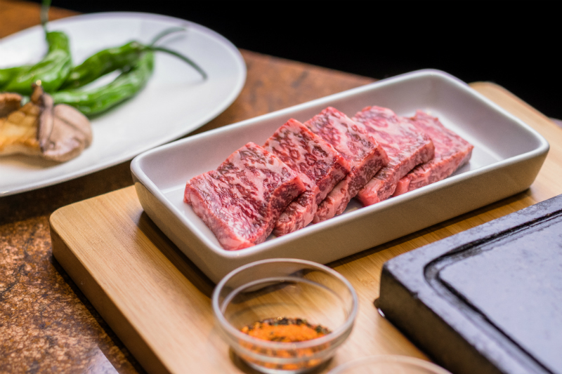Grilled Wagyu Tableside