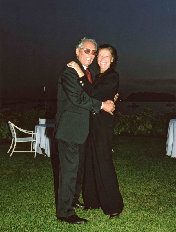 Lauren Berger and Husband High Res