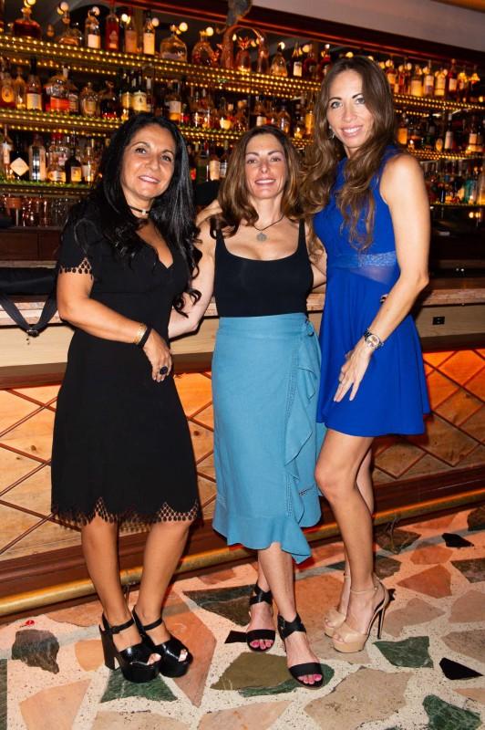 Joelle Oiknine, Janet Sillverman and Erika Palacios