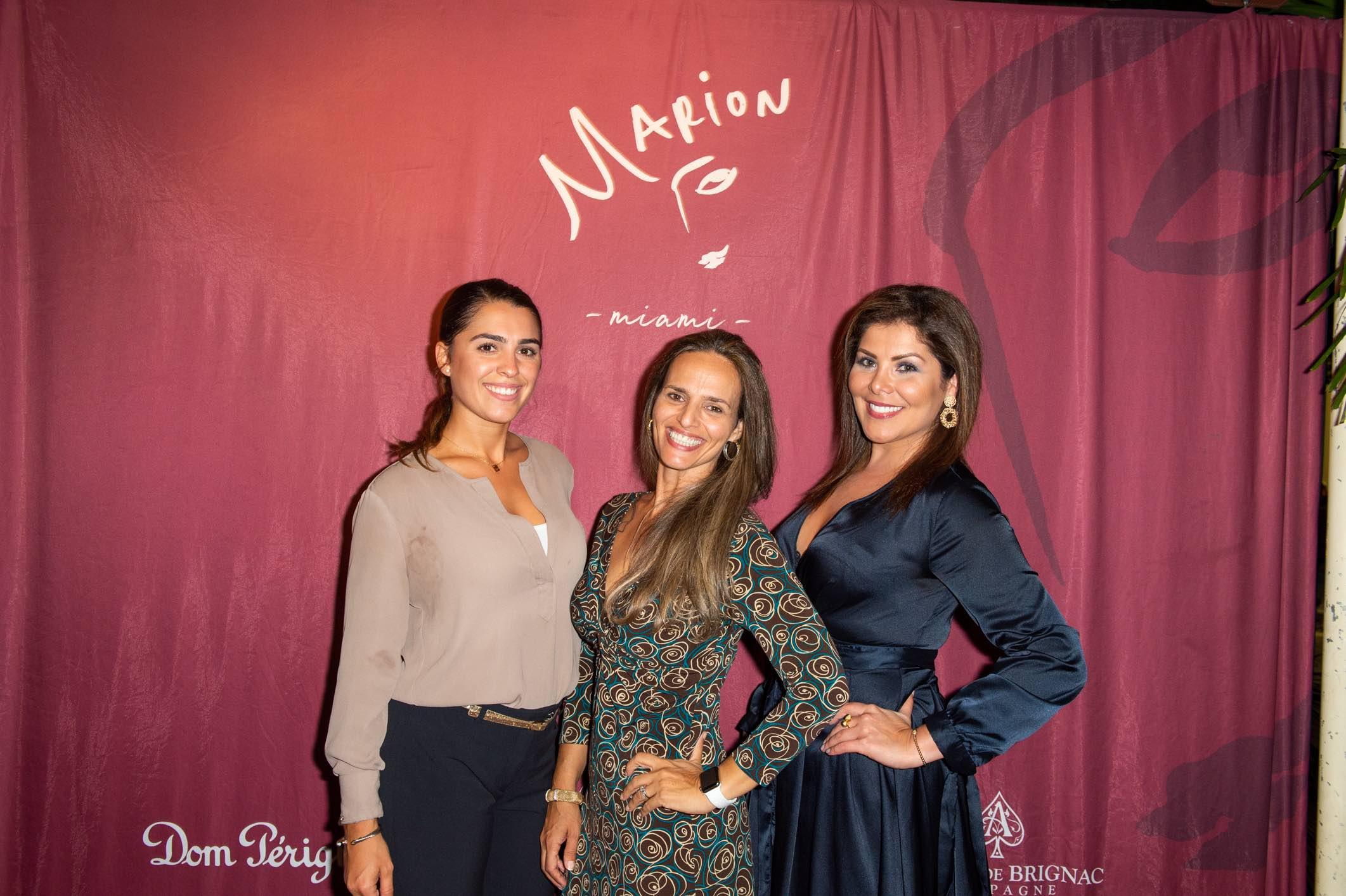 Demi LEE Ruiz, Giovanna Fernandez and Katherine Roman