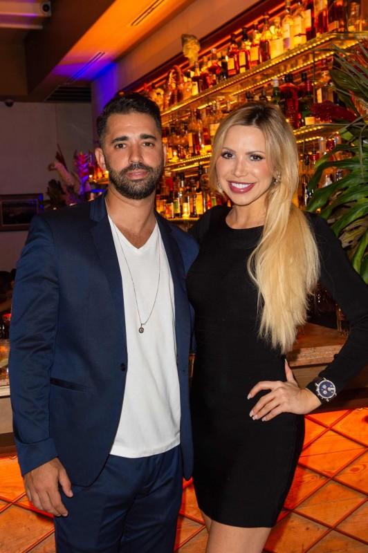 Eliad Beno and Melissa Barragan