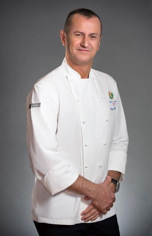 The Venetian and Palazzo's Executive Chef Olivier Dubreuil
