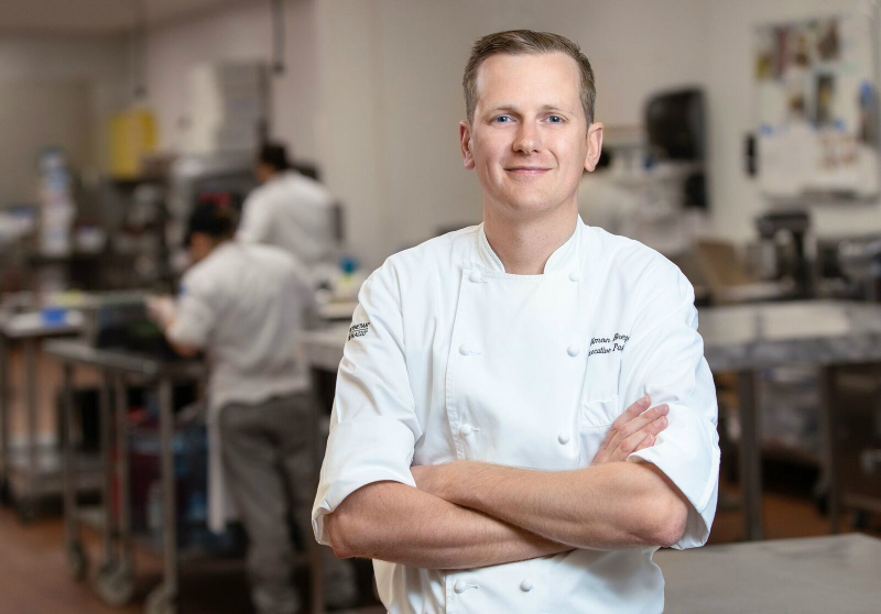 Simon Bregardis, executive pastry chef at The Venetian & Palazzo Bakeshop