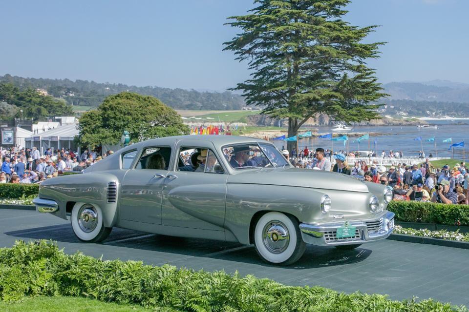 George Lucas' 1948 Tucker 48 Sedan won the newly created Tucker class