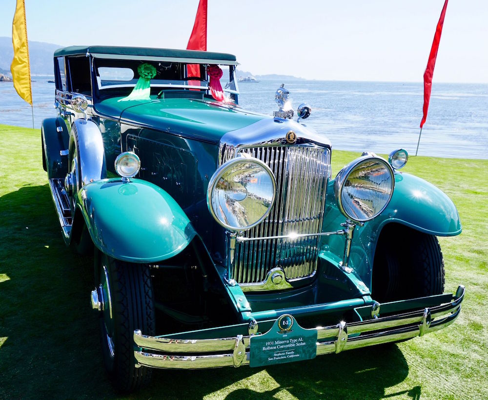 1930 Rolls-Royce Phantom II Hooper & Co. Two Seater Tourer owned by collector John and Gwen McCaw