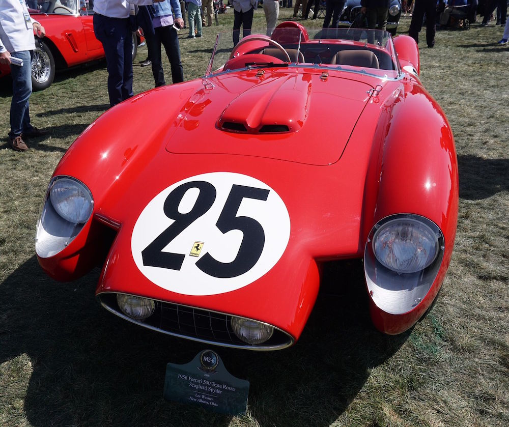 1956 Ferrari 500 Testa Rossa Scaglietti Spyder owned by collector Les Wexner