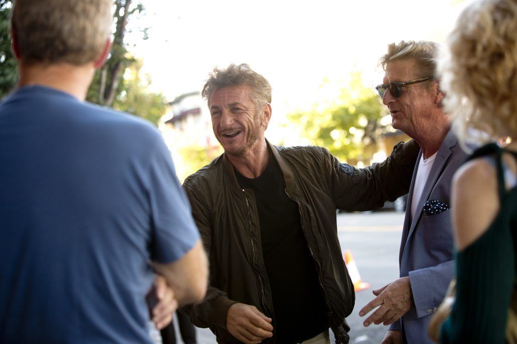 Sean Penn at the 2017 MVFF