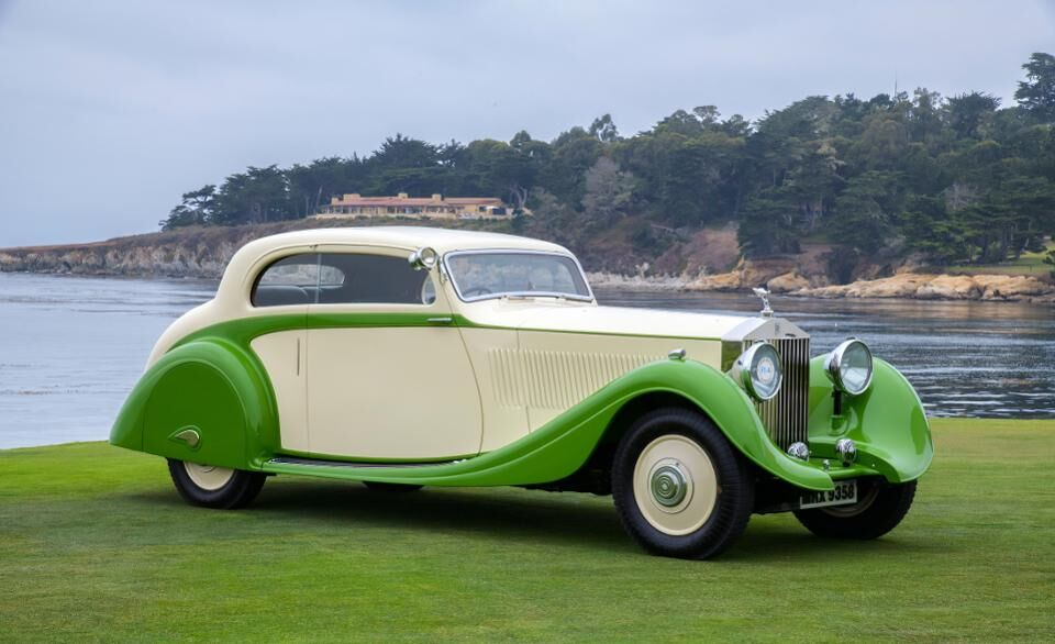 This 1935 Rolls Royce Phantom II Continental was awarded First in Class of the Motor Cars of the Raj category
