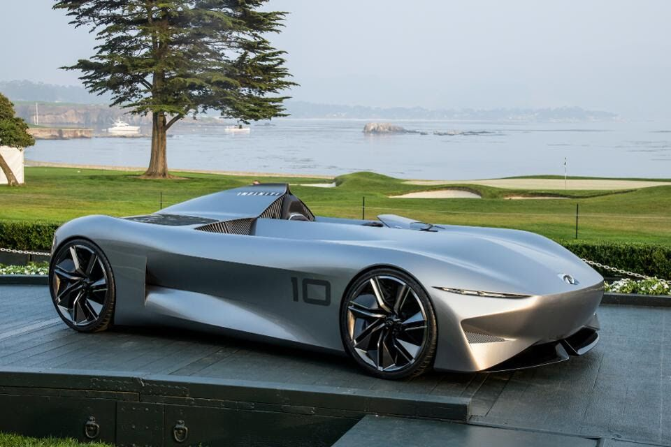 The Infiniti unveiling of concept car Prototype 10 at Pebble Beach Lodge