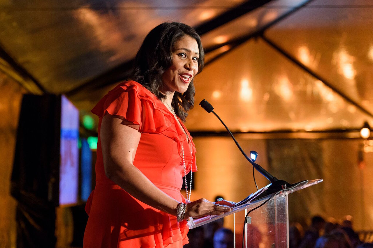 Speaking at the 2018 California Historical Society Gala