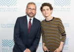SAN RAFAEL, CA - October 6 - Steve Carell and Timothée Chalamet attend MVFF41 Red Carpet Arrival for BEAUTIFUL BOY on October 6th 2018 at Smith Rafael Film Center in San Rafael, CA (Photo - Drew Altizer)