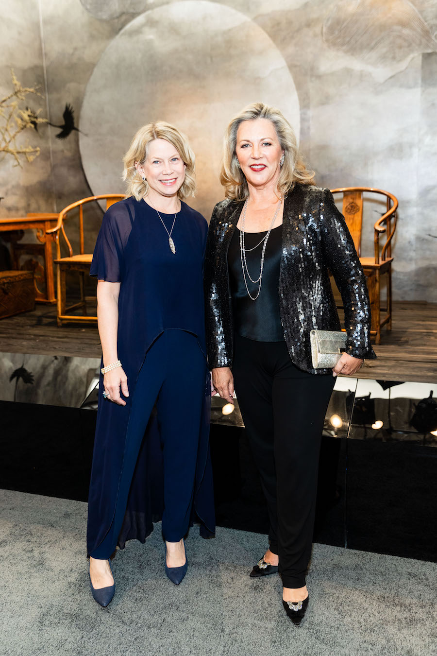 Ariane Trimuschat and Suzanne Tucker