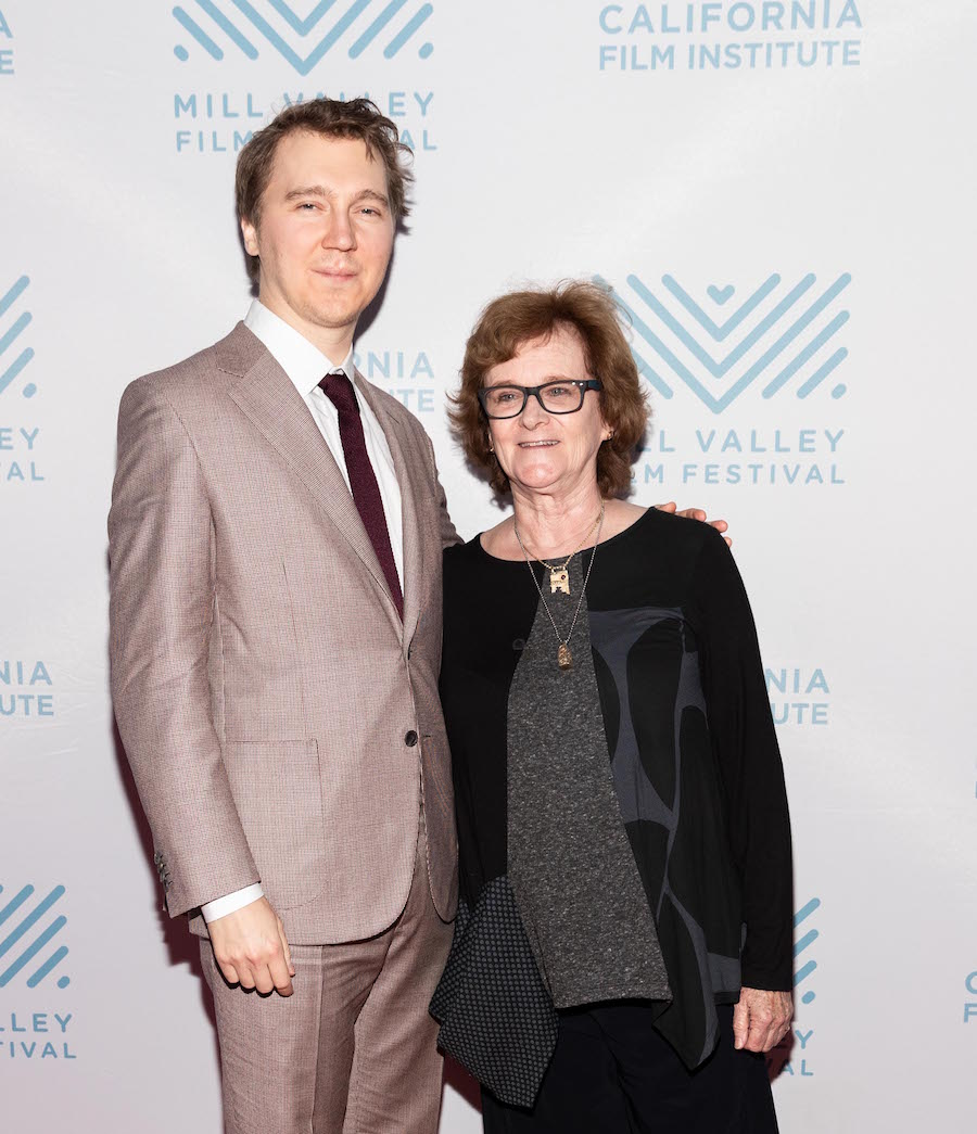 Paul Dano and Zoë Elton