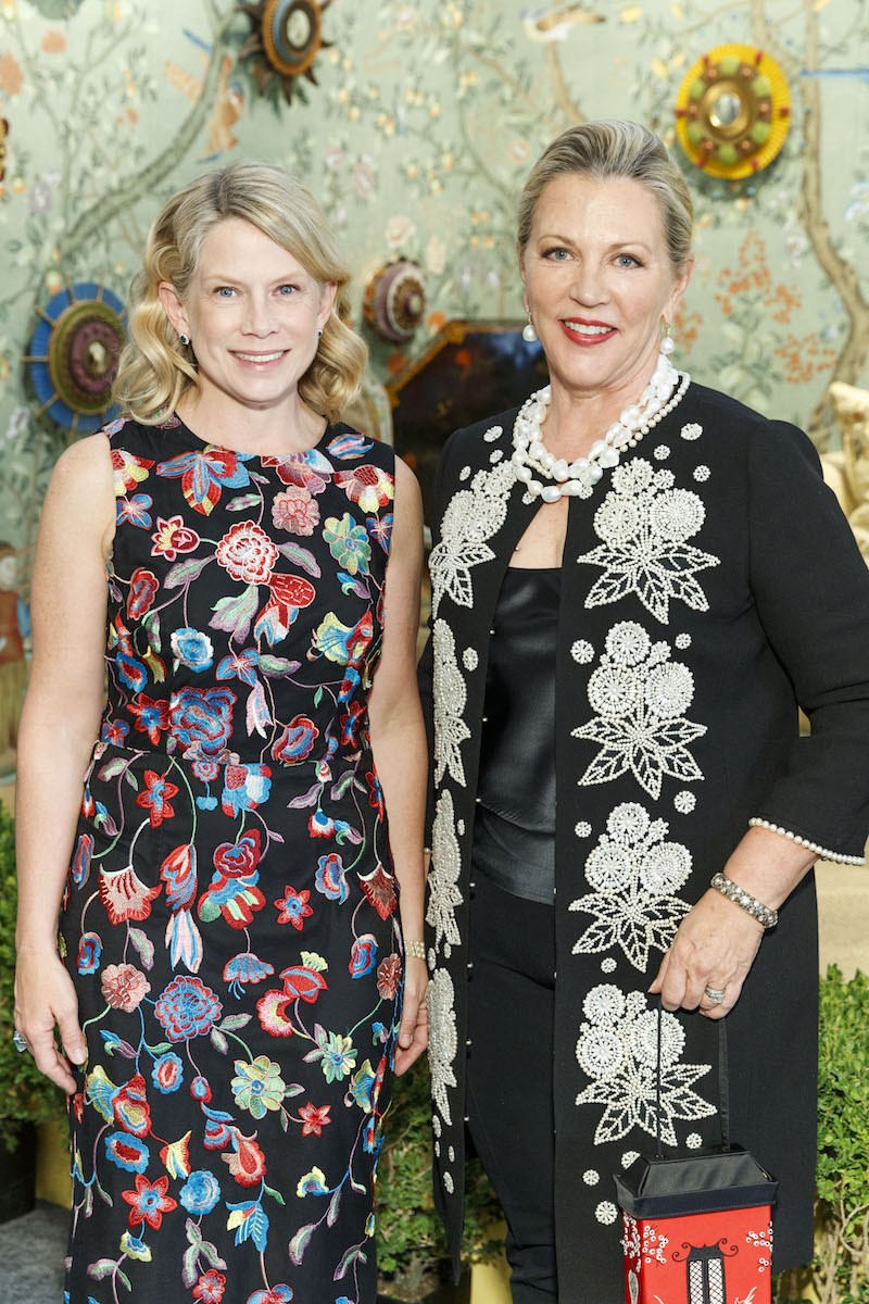 Ariane Trimuschat and Suzanne Tucker at last fall's preview gala