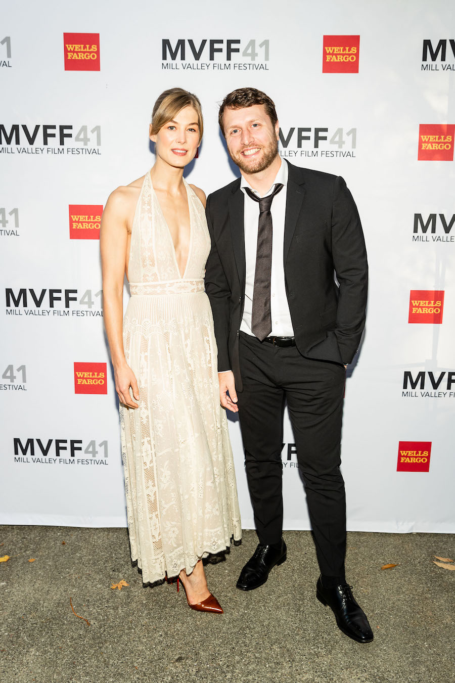 Rosamund Pike and Matthew Heineman
