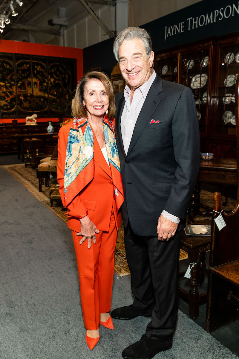 Nancy Pelosi and Paul Pelosi