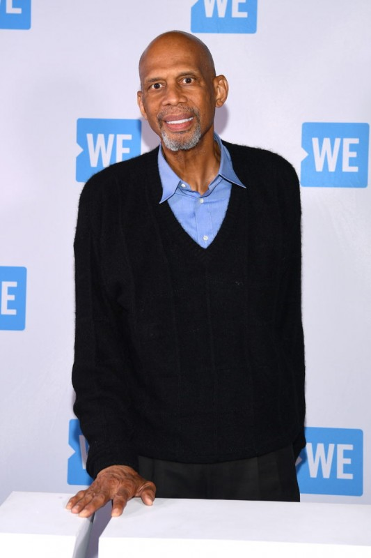 Kareem Abdul-Jabbar attends WE Day UN 2018 at Barclays Center on September 26, 2018