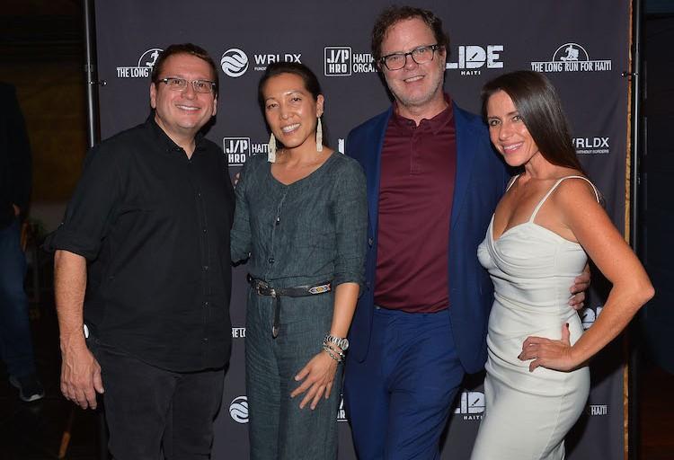 Sean Penn, Rainn Wilson And Soleil Moon Frye Launch Digital Recovery Campaign For Haiti