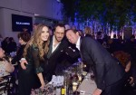 (L-R) Elizabeth Chambers, Tom Ford, and Armie Hammer attend the Hammer Museum 16th Annual Gala in the Garden  at the Hammer Museum on October 14, 2018 in Los Angeles