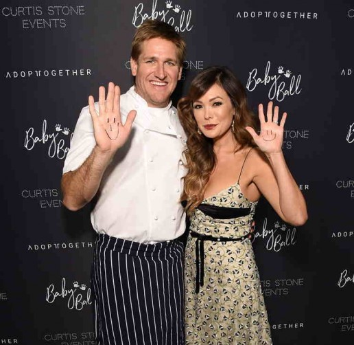 Chef Curtis Stone and Lindsay Price attend the 4th Adopt Together Baby Ball Gala