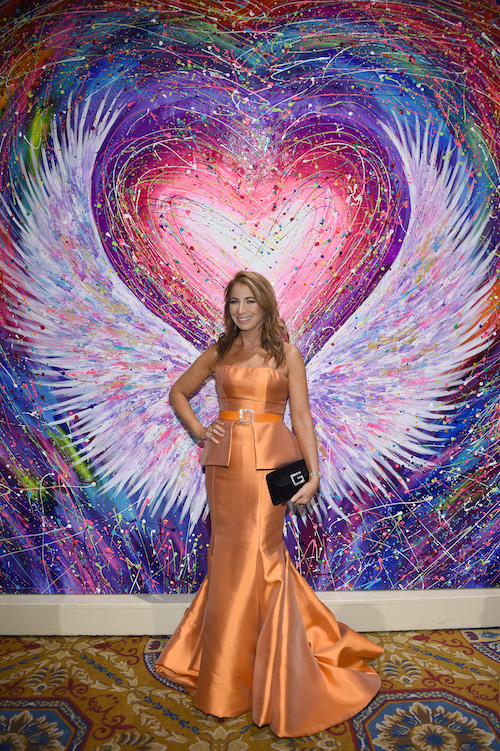 Jill Zarin attends the 2018 Angel Ball hosted by Gabrielle's Angel Foundation at Cipriani Wall Street on October 22, 2018 in New York City.