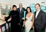 Kris Jenner, Reed Krakoff, Kim Kardashian West and  CEO Alessandro Bogliolo