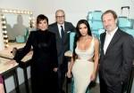 Kris Jenner, Reed Krakoff, Kim Kardashian West and  CEO Alessandro Bogliolo
