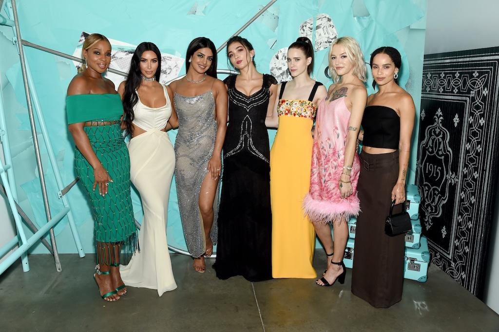 Mary J. Blige, Kim Kardashian West, Priyanka Chopra, Rowan Blanchard, Rachel Brosnahan, Bria Vinaite, and Zoe Kravitz
