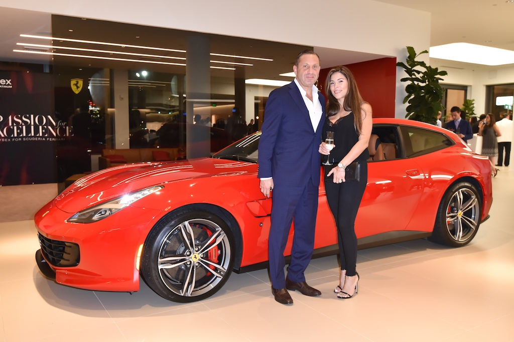 55 CYBEX Launches Scuderia Ferrari Collection With Intimate Cocktail Party Hosted By Tot Living By Haute Living