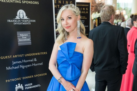 SAN FRANCISCO, CA - September 5 - Sonya Molodetskaya attends San Francisco Symphony 2018 Opening Night Gala on September 5th 2018 at Davies Symphony Hall in San Francisco, CA (Photo - Devlin Shand for Drew Altizer Photography)