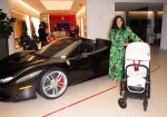 CYBEX Launches Scuderia Ferrari Collection With Intimate Cocktail Party Hosted By Tot Living By Haute Living
