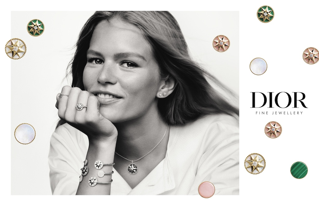Dior Launches La Rose Des Vents Campaign With Anna Ewers