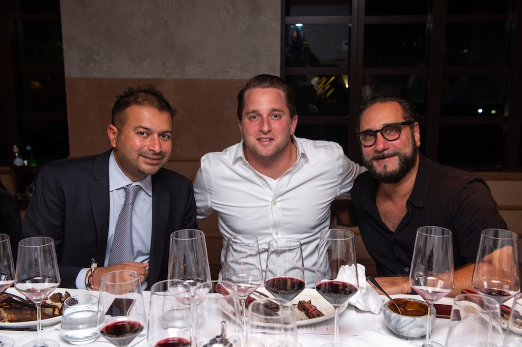 Kamal Hotchdani, Matt Brooks, Louis Birdman