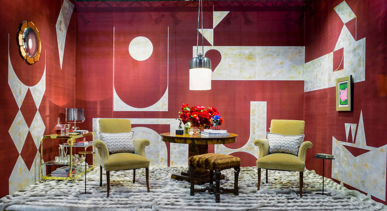 A vignette from the 2017 show designed by Jay Jeffers